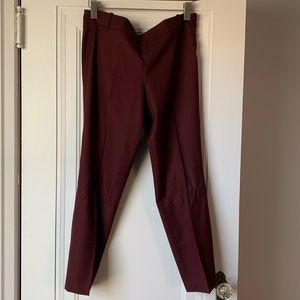 J.Crew City Fit Wool Trouser